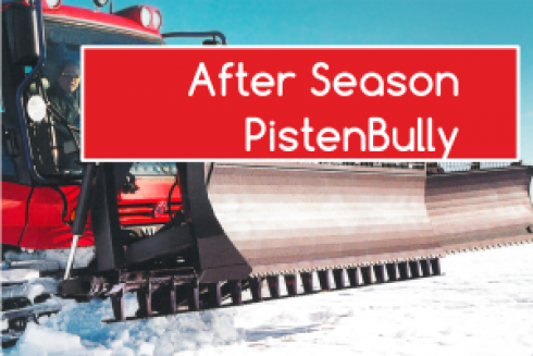 After Season PistenBully